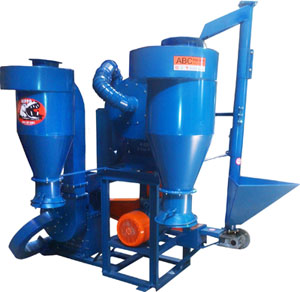 Baby Hippo Hammer Mill- Color Blue - For Spice, Herbs & Maize Milling