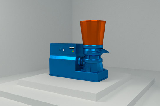 Pellet Mill - By Hippo Mills and ABC Hansen - Color Blue
