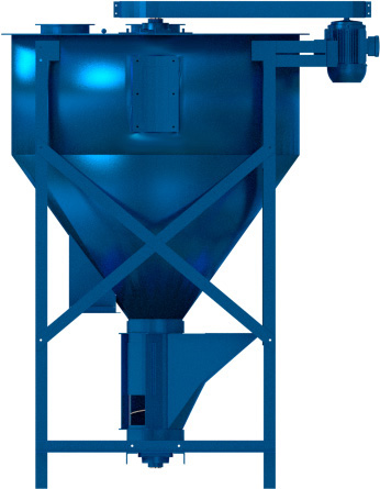 A design of a Vertical Mixer by Hippomills in South Africa. Right side